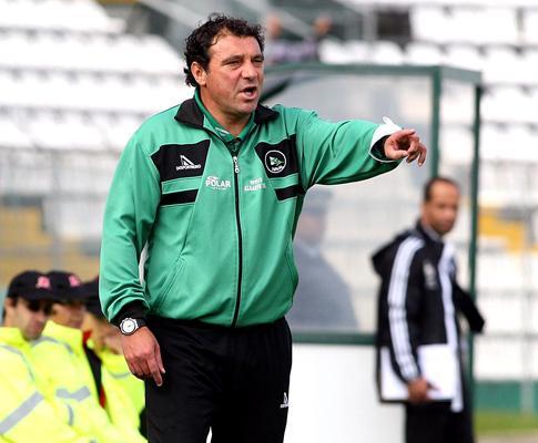 Naval: Rogério Gonçalves despediu-se dos jogadores