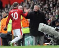 Alex Ferguson e Wayne Rooney