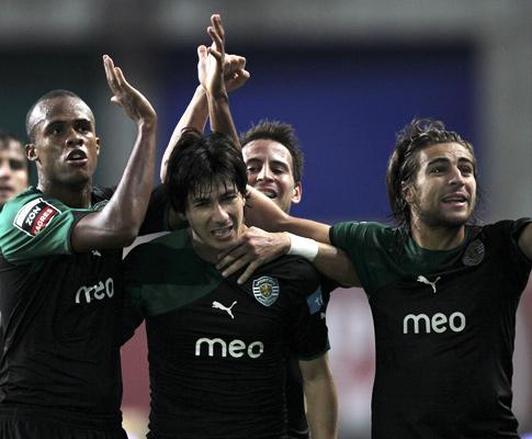 U. Leiria-Sporting, 1-2 (crónica)