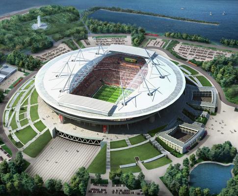 Federação russa quer São Petersburgo para jogo inaugural do Euro2020