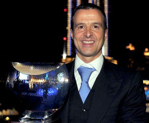 Jorge Mendes quinto mais influente do futebol mundial
