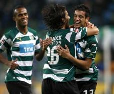 Sporting-Sp. Braga: Diogo Salomão festeja
