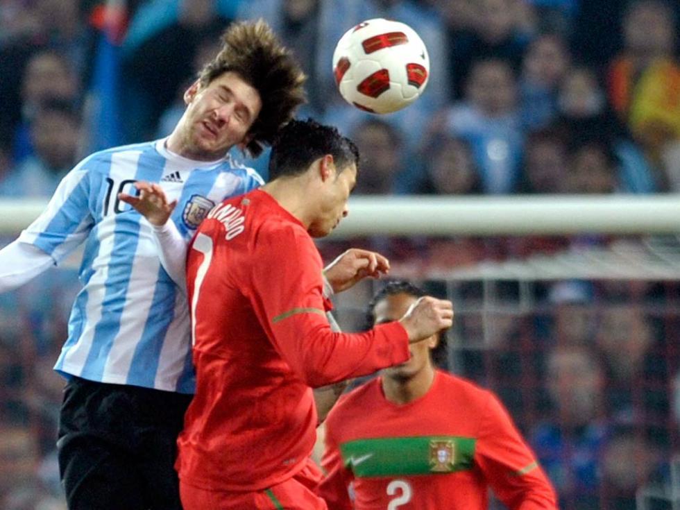 Portugal cai no fim perante a Argentina (1-2)