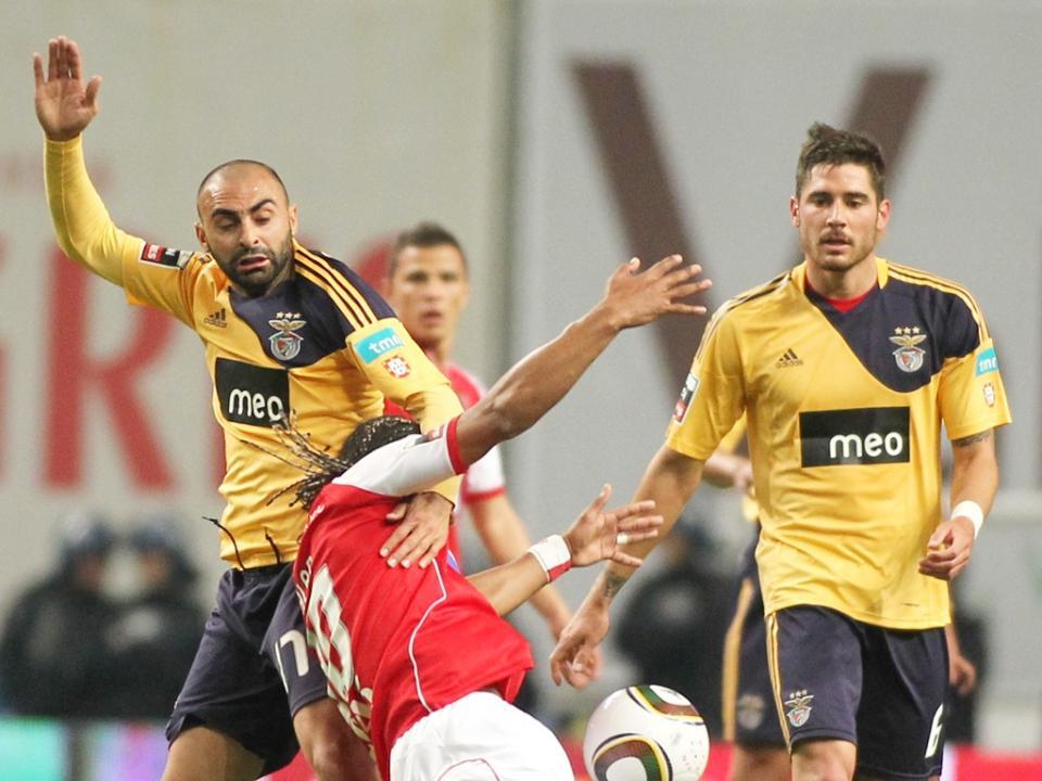 Javi Garcia (ex-Benfica) anuncia que vai processar Alan (Sp. Braga)