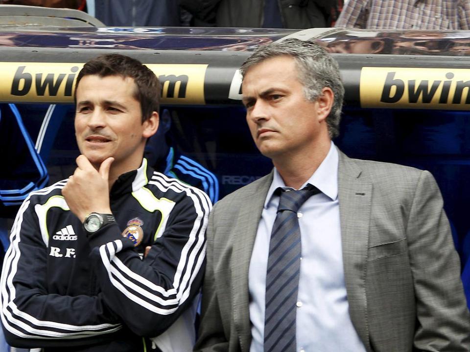 Mourinho aprova Rui Faria no Arsenal: «Até lhe faço as malas»