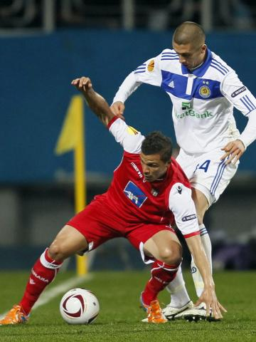 Dínamo Kiev vs Sporting de Braga (EPA/SERGEY DOLZHENKO)