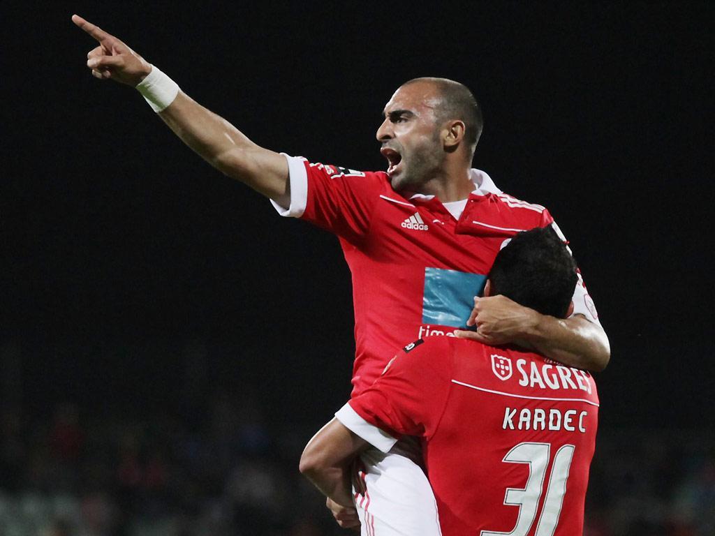Benfica: 277 dias depois, Carlos Martins volta à competição