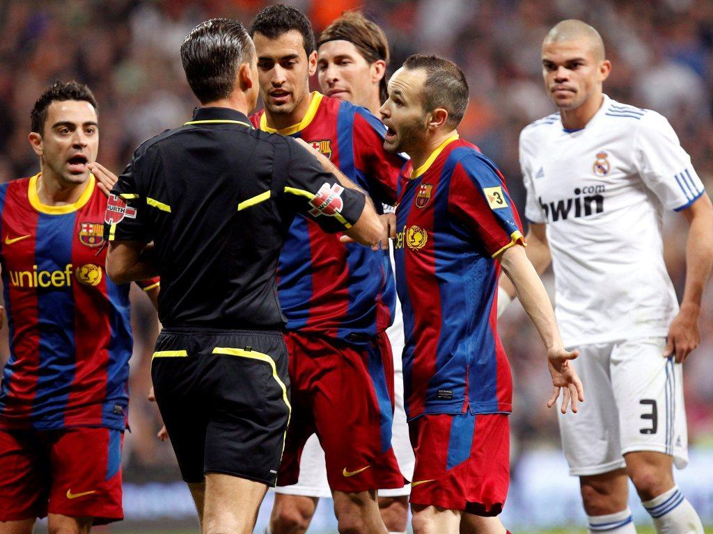 Barcelona-Real Madrid (AO VIVO): confira os onzes!