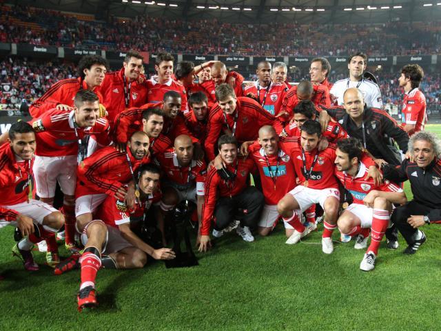 Benfica - vencedor Taça da Liga