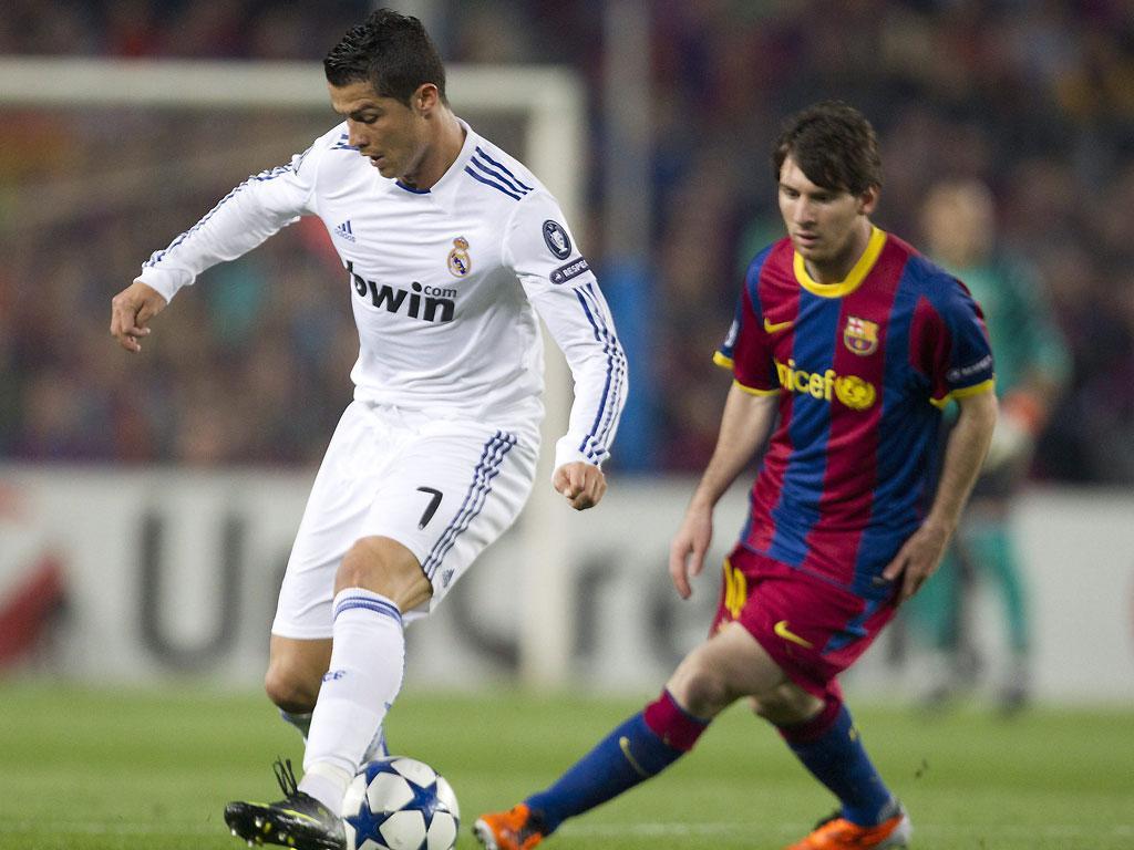Messi: 53 golos, como Ronaldo