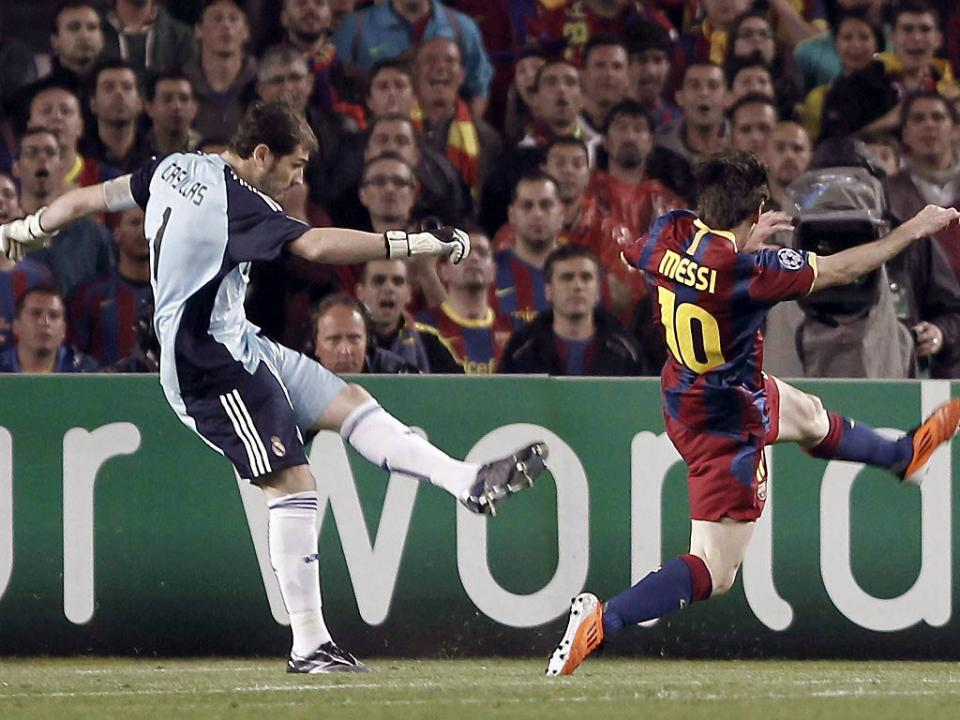 Casillas: «Messi é como uma bateria elétrica»