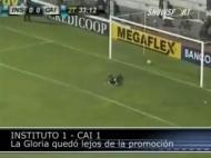 Autogolo na II Divisão argentina