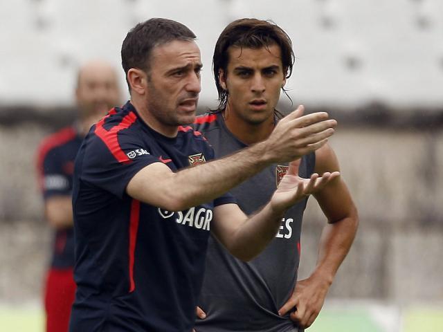Paulo Bento e André Santos (Tiago Petinga/Lusa)