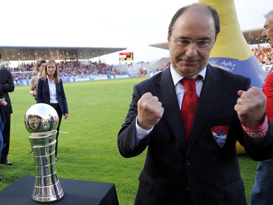 António Fiúsa: «Tenho receio de que o Gil Vicente só suba em 2030»