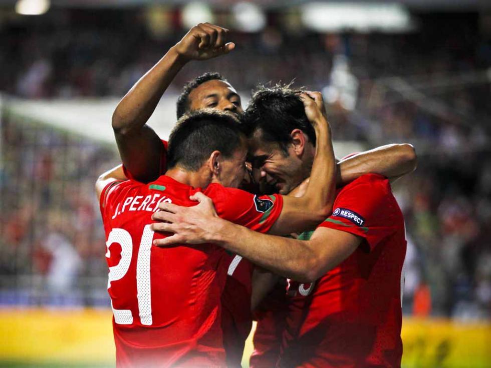 Portugal vs Noruega (Paulo Cunha/LUSA)