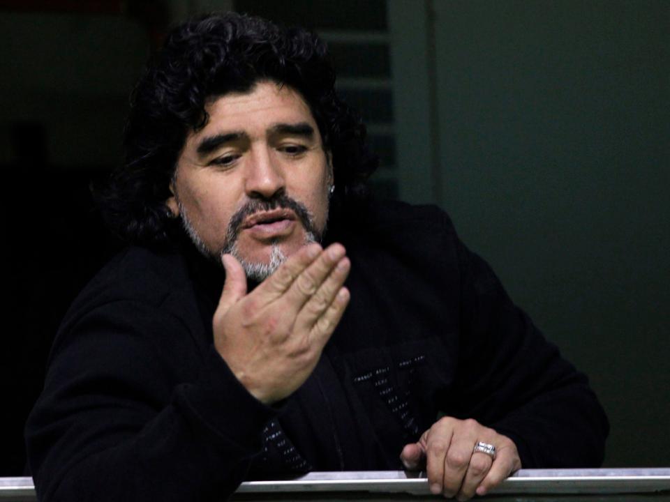 Maradona puxa pela estatística para reivindicar cargo de selecionador