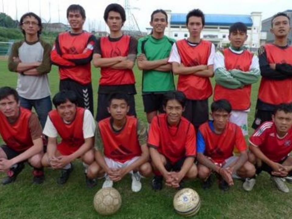 Rumah Cemara: o futebol como arma contra a SIDA