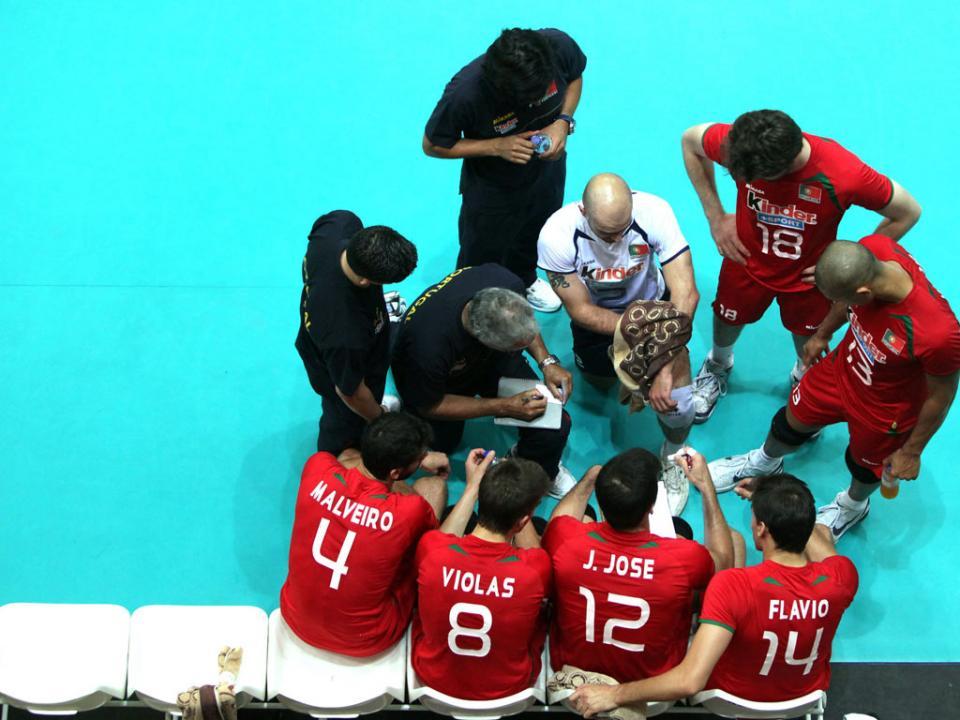 Voleibol: Portugal vence na Finlândia para a Liga de Ouro