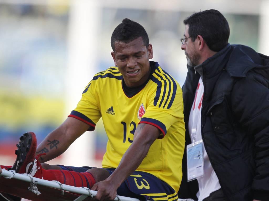 Mundial: Guarín marca, lesiona-se e Colômbia empata (1-1)