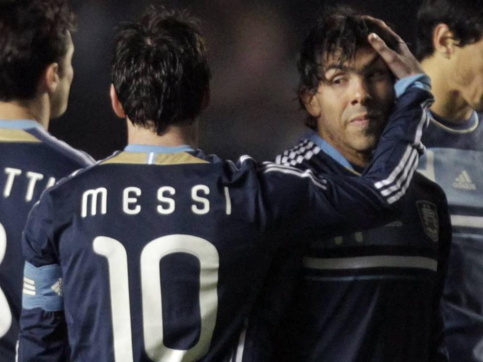 194021208a Tévez  «Por alguma razão dizemos que Messi é de outro planeta ...