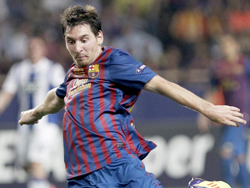 Barcelona esmaga Osasuna: 8-0, Messi esplendoroso!
