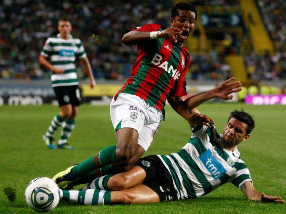 Sporting-Marítimo, 2-3 (ficha)
