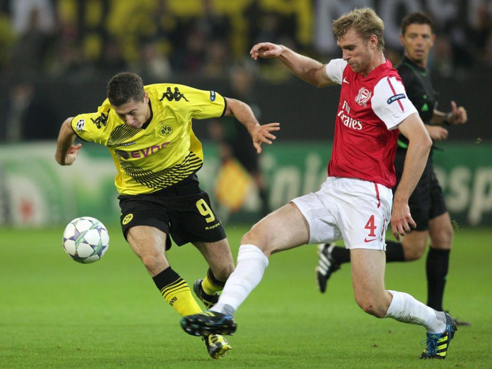 Borussia Dortmund - FC Arsenal (EPA)