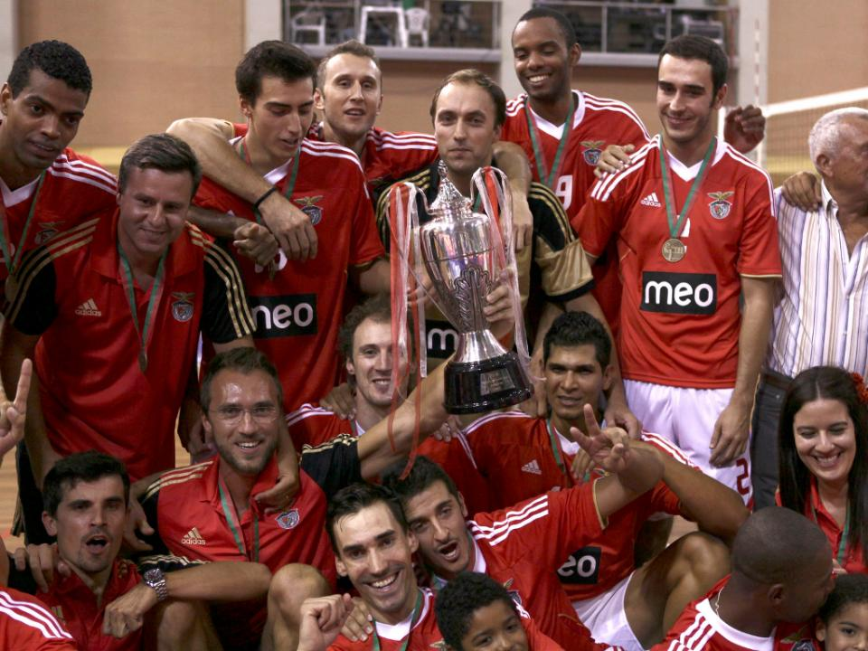 Voleibol: Benfica conquista a Supertaça
