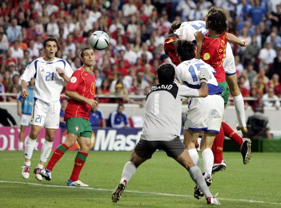 Portugal-Grécia, 0-1 (crónica)