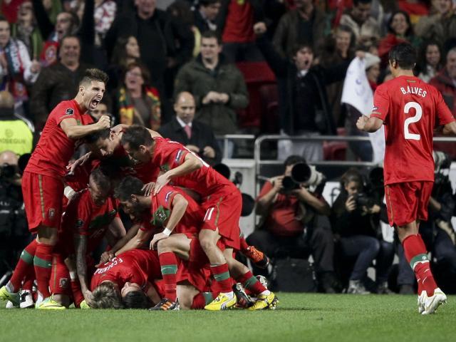 Portugal vs Bósnia e Herzegovina (Miguel A. Lopes/LUSA)