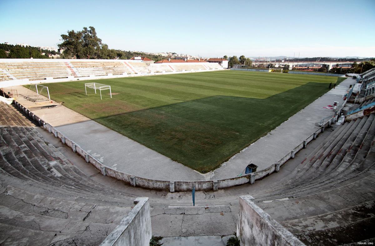 Reportagem no estádio do Atlético (foto: Manuel Lino)