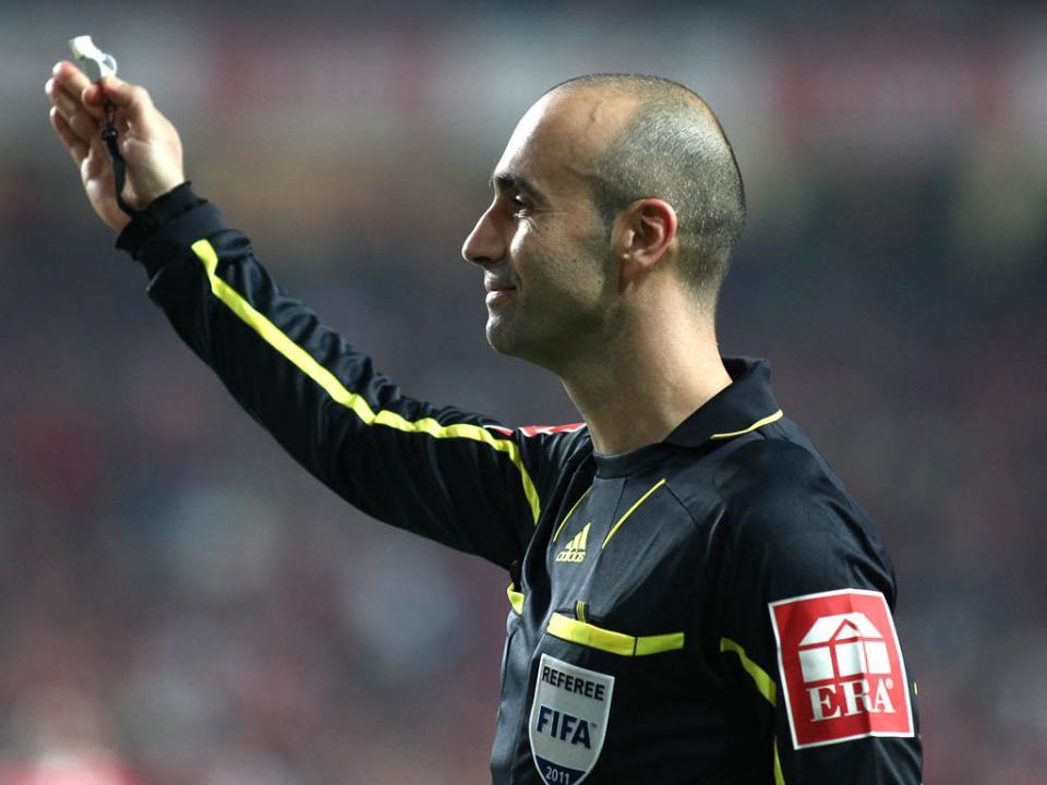 João Capela vai apitar o Desp. Chaves-Benfica