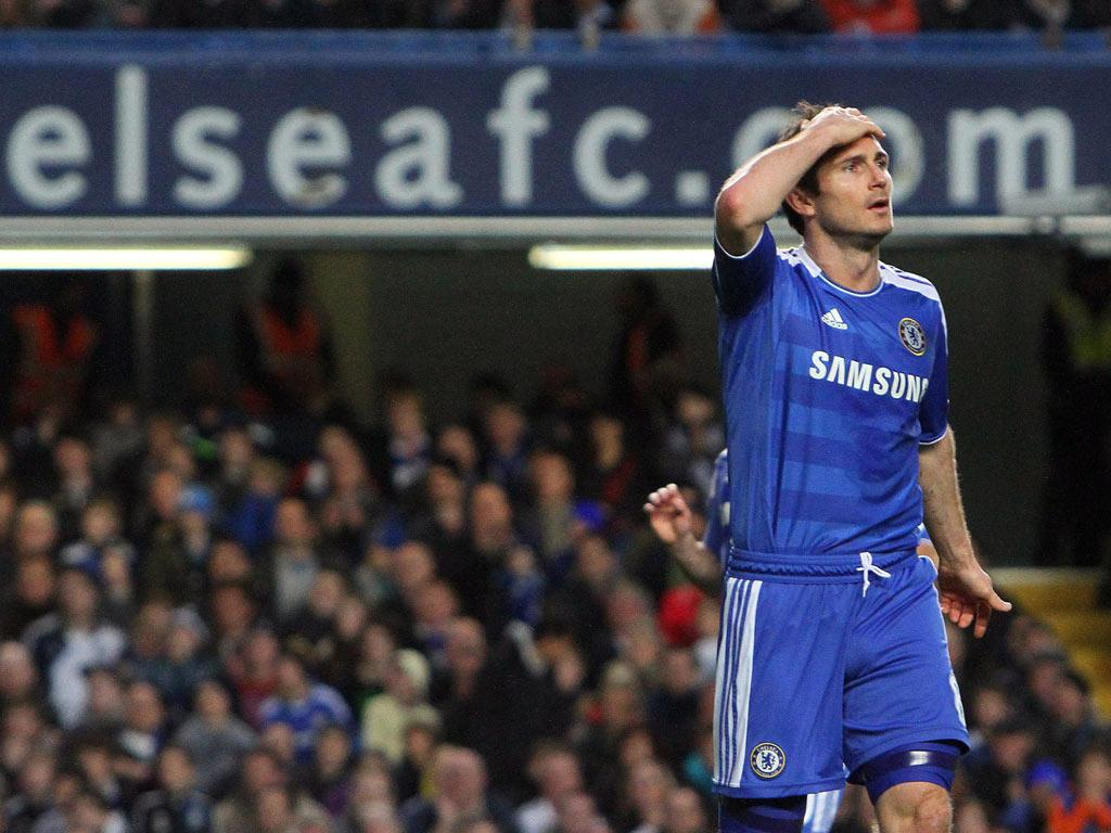 Este Chelsea já não é tão bom, admite Lampard