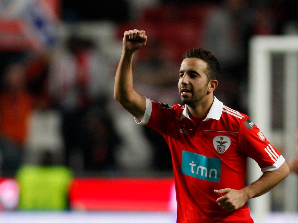 Benfica: Ruben Amorim com entorse no joelho direito