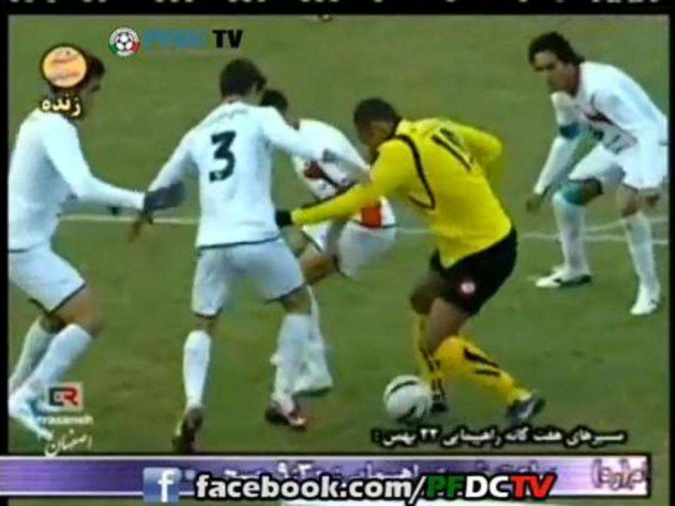 Grande golo: brasileiro mais rápido que quatro iranianos