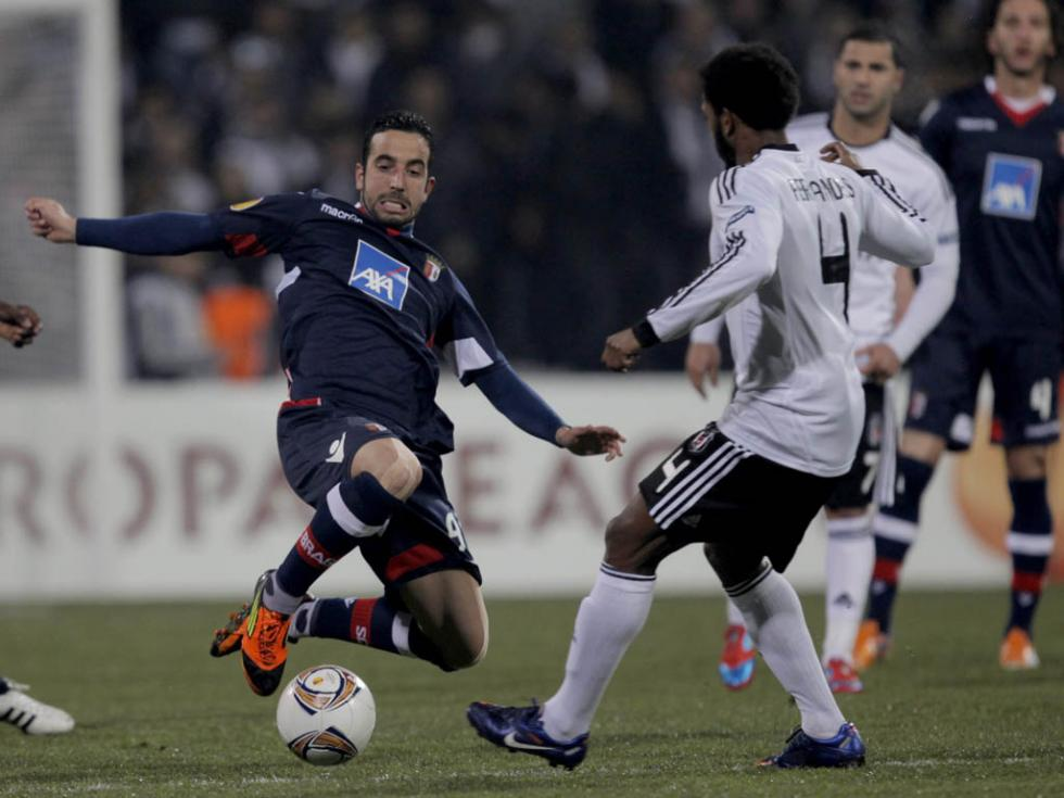 Besiktas vs Sp. Braga (EPA/Tolga Bozoglu)