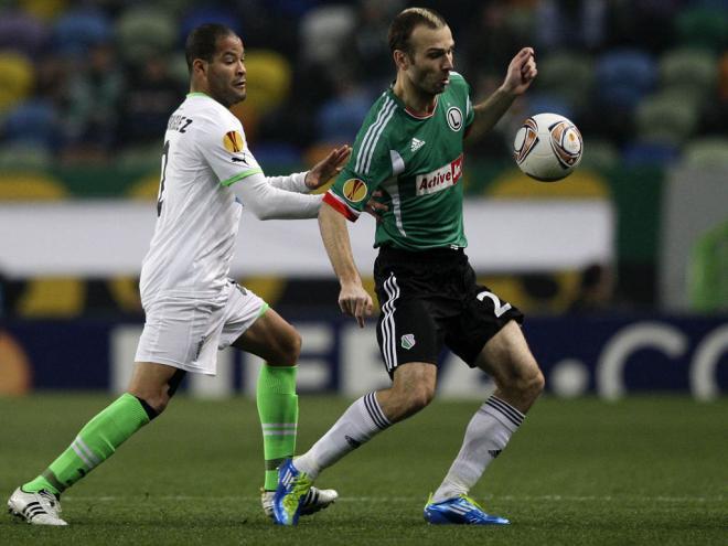 Sporting vs Legia (António Cotrim/LUSA)