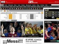 As (Espanha) «Messi!!!»