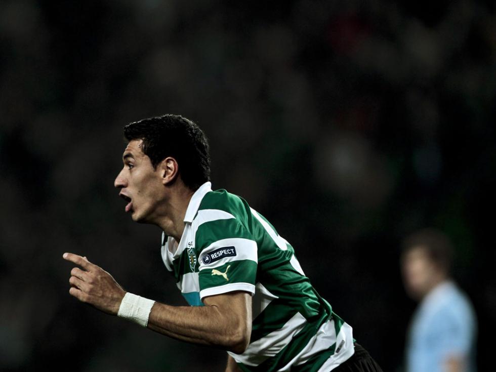 Sporting Lisbon vs Manchester (EPA/MANUEL DE ALMEIDA)