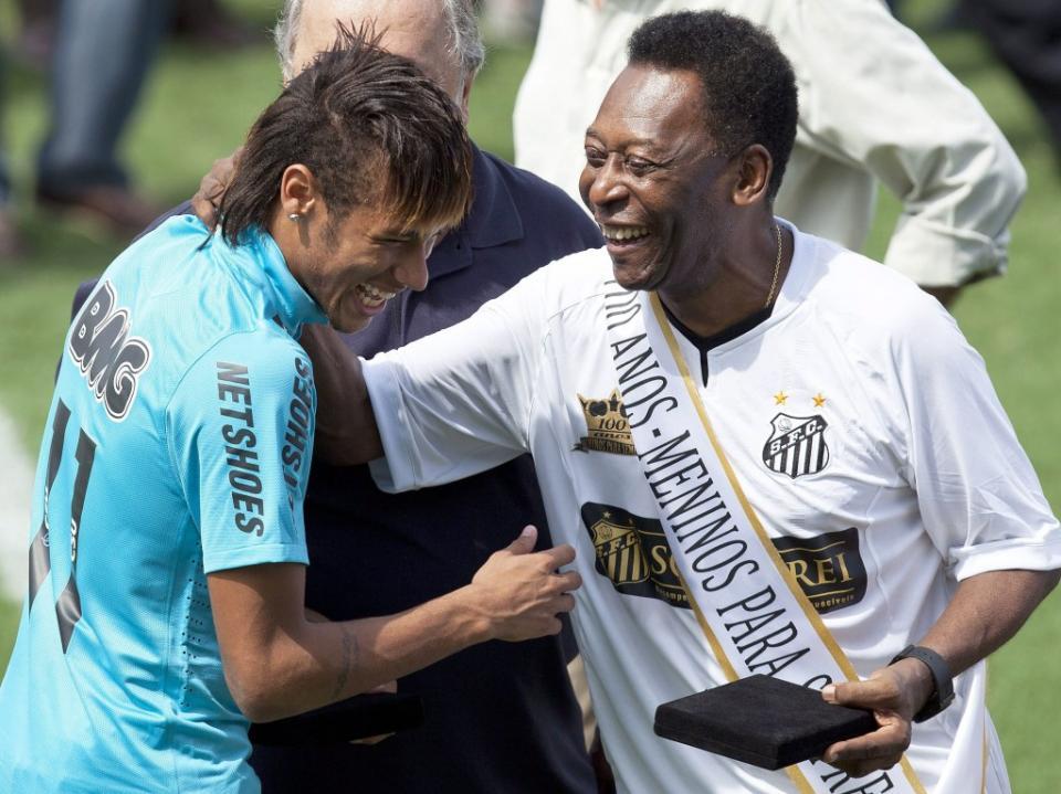 «Neymar já é o melhor jogador do Mundo tecnicamente»