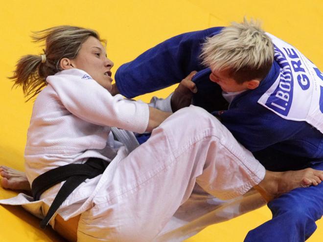 Telma Monteiro vence ouro na Rússia [EPA/Maxim Shirenkov]