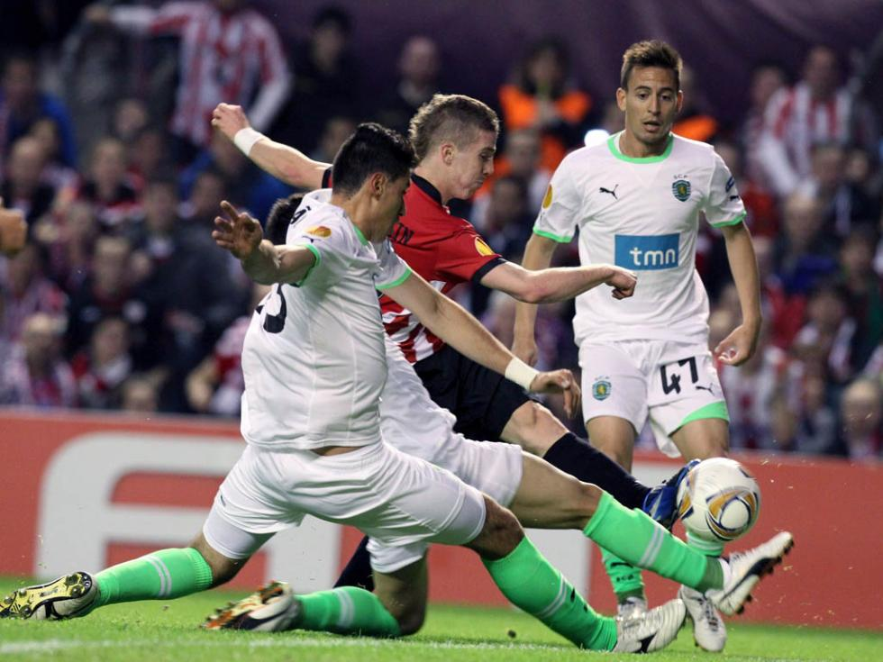 Athletic Bilbao vs Sporting (EPA/Luis Tejido)