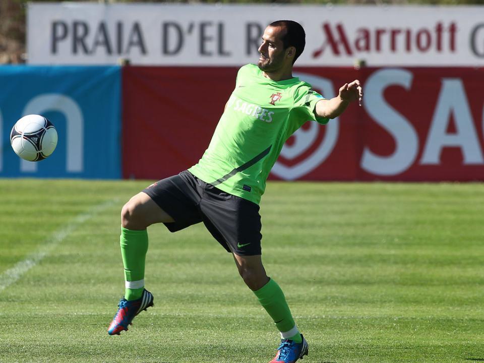 Seleção: Ruben Micael falha treino, Ronaldo condicionado