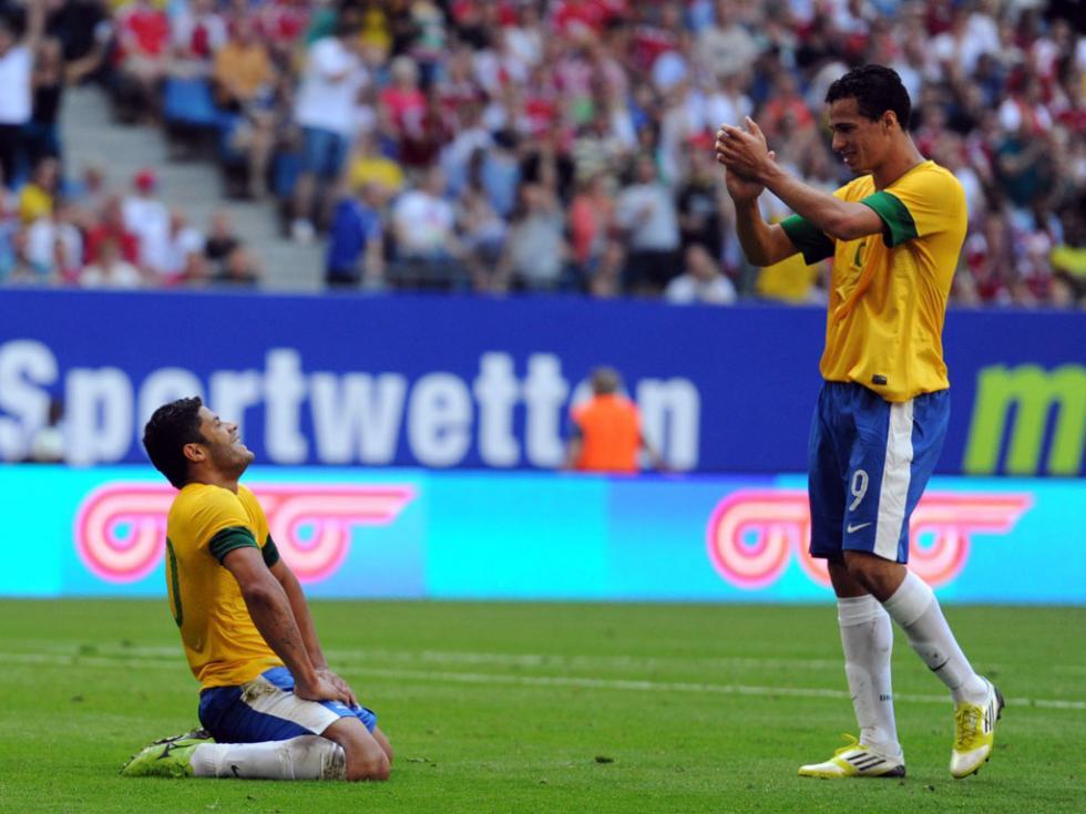 Brasil vs Dinamarca (EPA/Daniel Reinhardt)