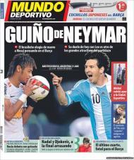 «Mundo Deportivo»: hoje há um Brasil-Argentina