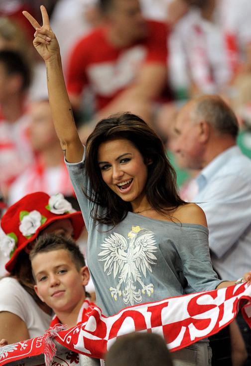Natalia Siwiec, a musa do Euro-2012 [EPA]