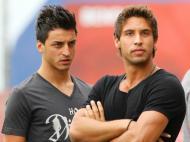 Benfica B: Luís Martins e Leandro Pimenta