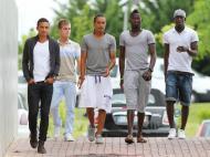Benfica B: Bruno Gaspar, Ernesto Cornejo, Hélder Costa, Luciano Teixeira e João Mário
