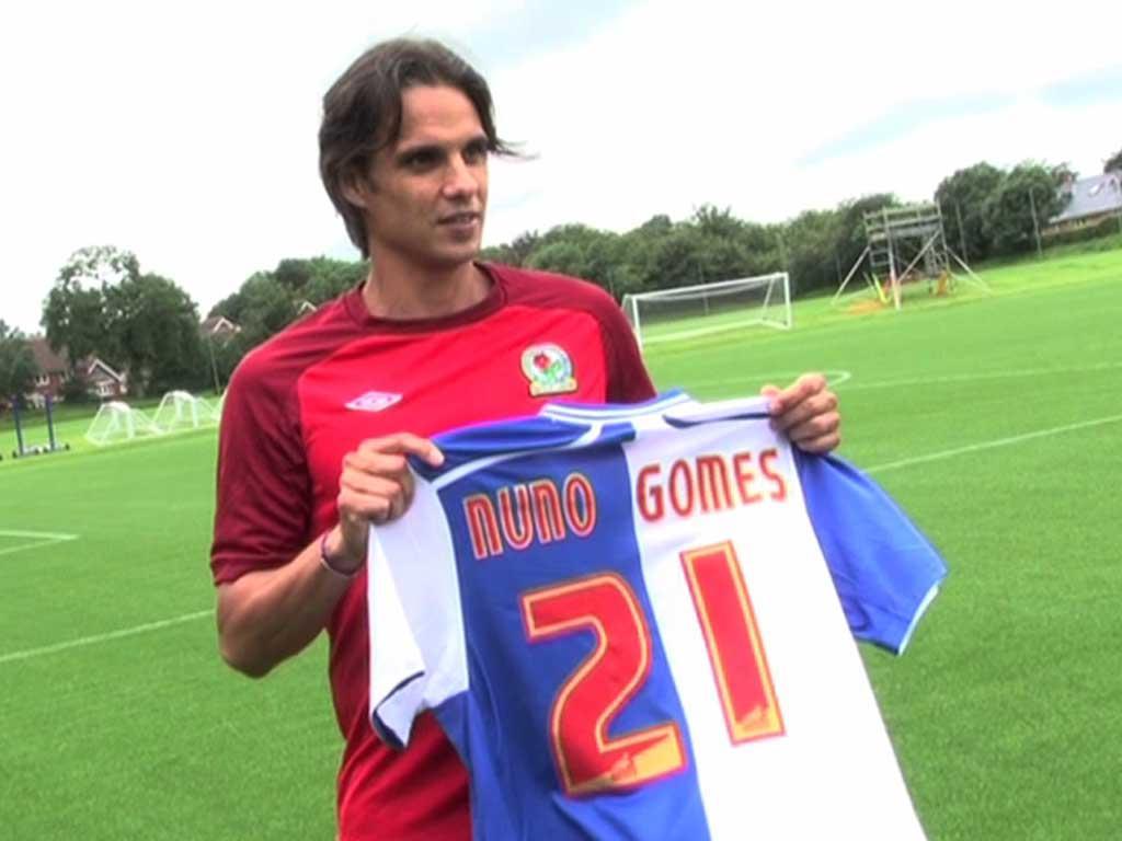 Nuno Gomes volta a marcar em jogo com 8 golos