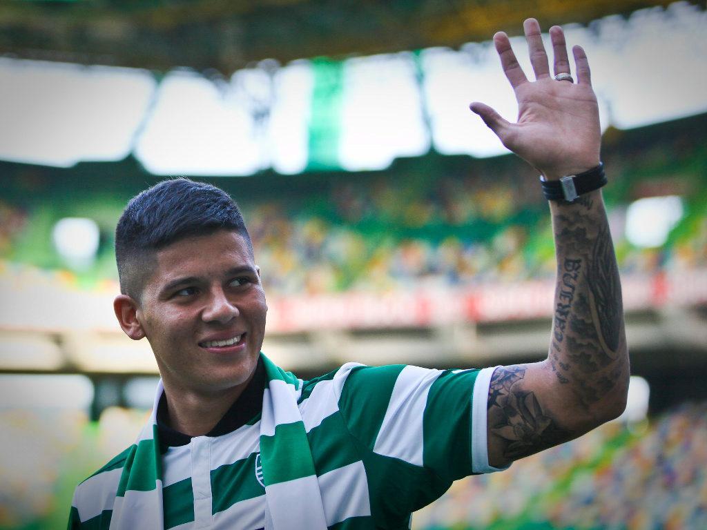 Sporting: Marcos Rojo regressou aos treinos